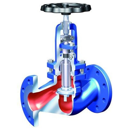 Запорная арматура 80 мм (опция газовой рампы)